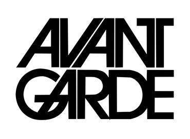 avant garde font typeface