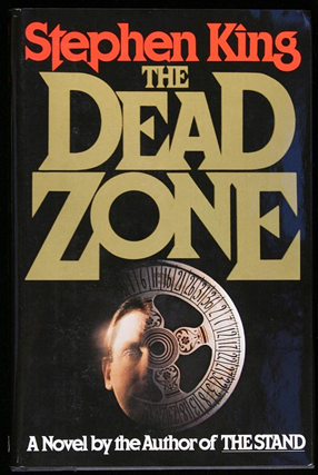 stephen king book cover featuring the cortez typeface