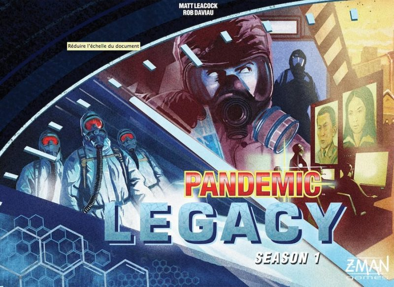 Pandemic Legacy board game