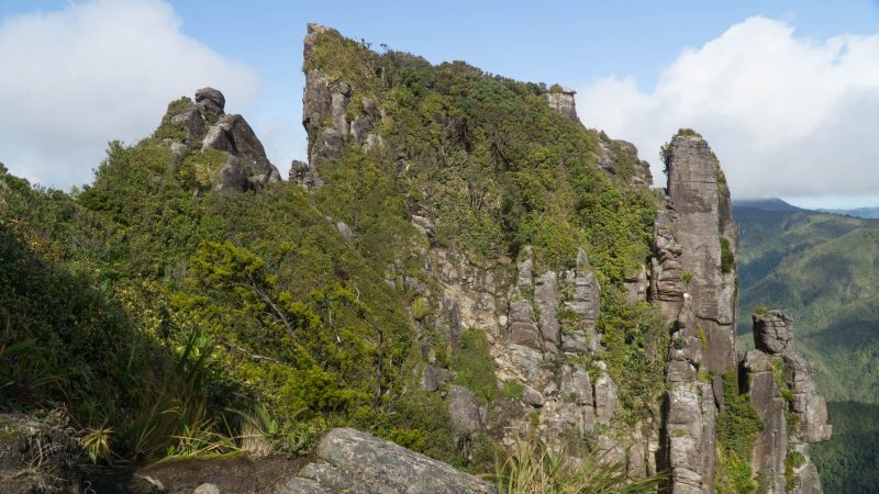 pinnacles walk summit, coromandel peninsula, new zealand
